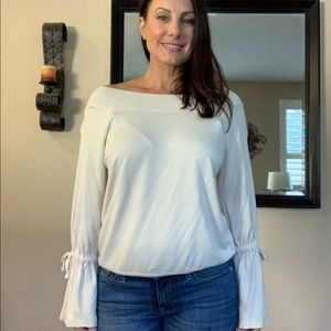 Express off the shoulder blouse